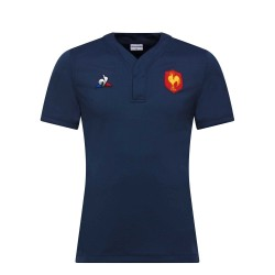 Maillot Rugby Training XV de France 2018-19 / Le Coq Sportif