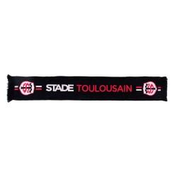Echarpe Noire et Rouge Toulouse Rugby / Stade Toulousain