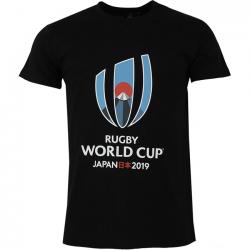 T-shirt Logo Homme Noir / RWC 2019