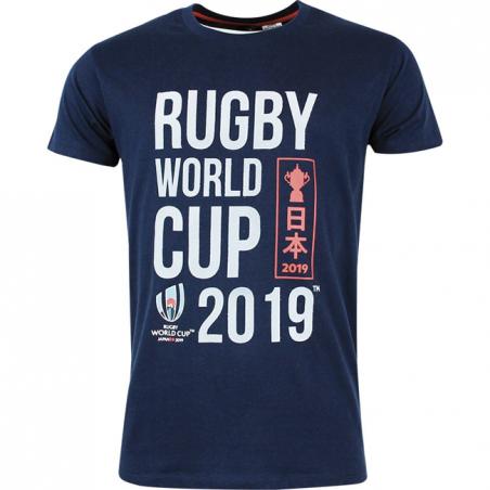 T-shirt Rugby World Cup 2019 Homme Bleu / RWC 2019