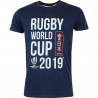 T-shirt Rugby World Cup 2019 Homme Bleu / RWC 2019