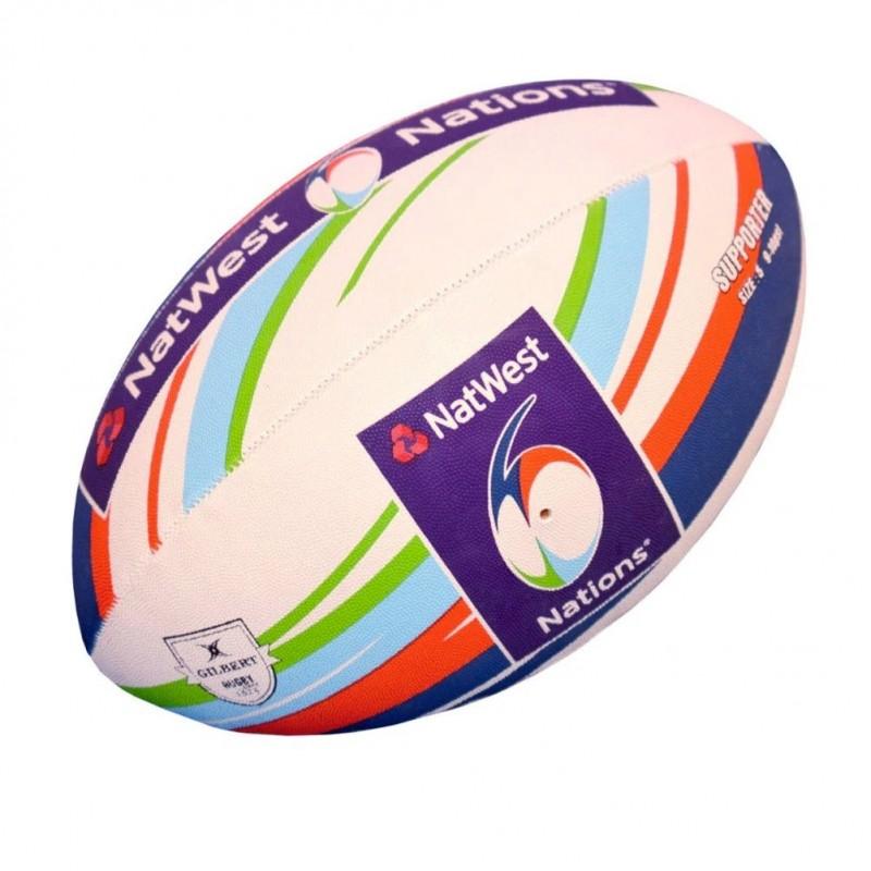 Ballon Rugby Supporteur RBS 6 Nations / Gilbert