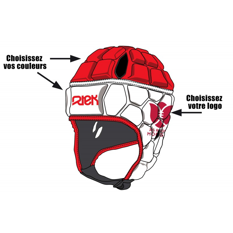 Casques Rugby personnalisables / RTEK