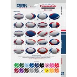 Ballons Rugby personnalisés / Rtek