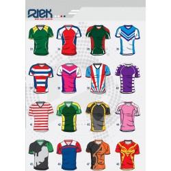 Maillots Rugby Sublimés / Rtek