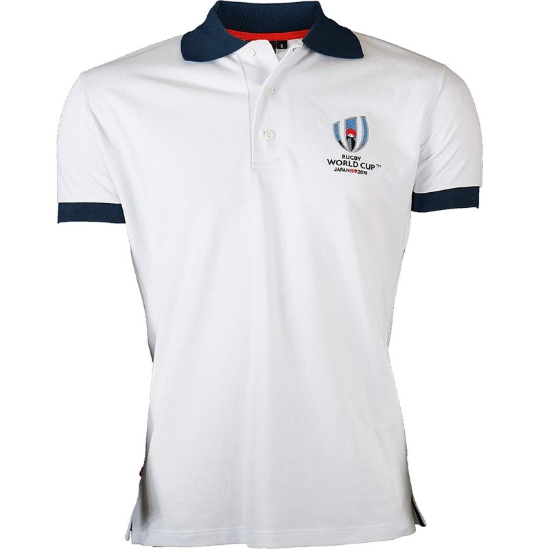 Polo Rugby World Cup 2019 Homme Blanc / RWC 2019