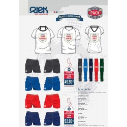 Pack Rugby Maillot-Short-Chaussettes / RTEK