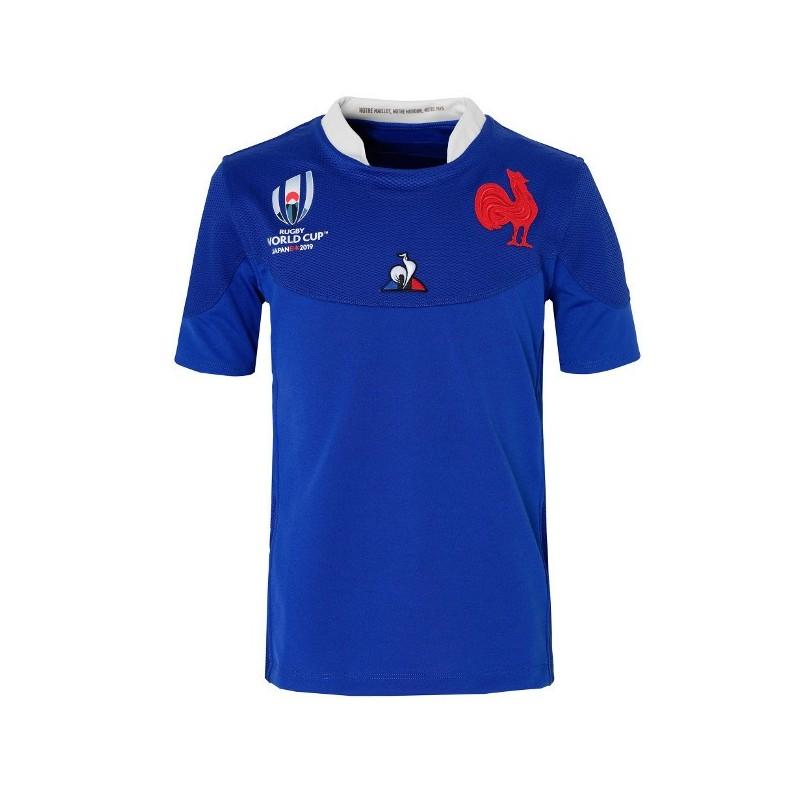 Maillot Rugby Enfant XV de France RWC 2019 / Le Coq Sportif