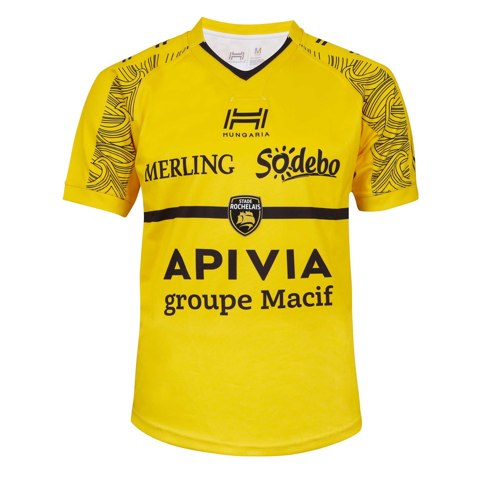 Maillot Rugby Extérieur 2019 2020 La Rochelle Hungaria