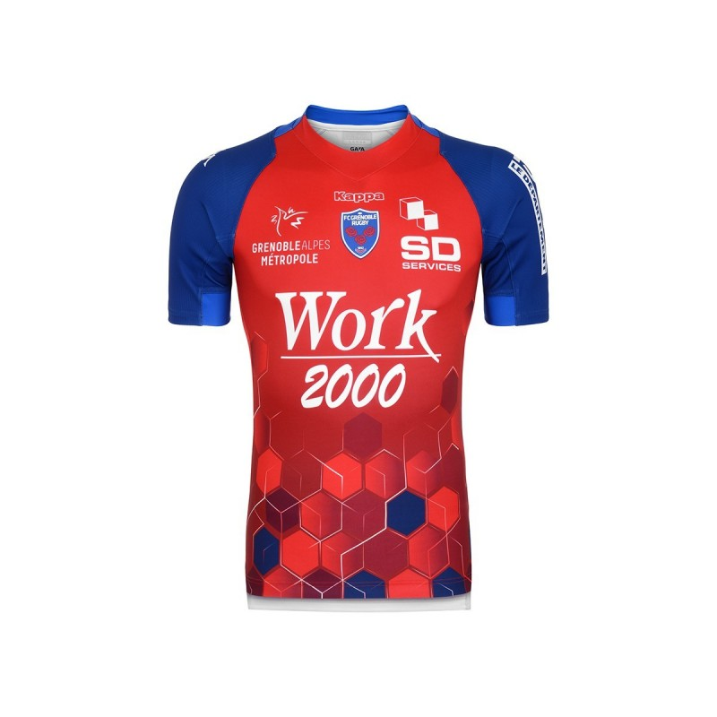 Maillot Rugby Away Adulte FC Grenoble 2019-2020 / Kappa