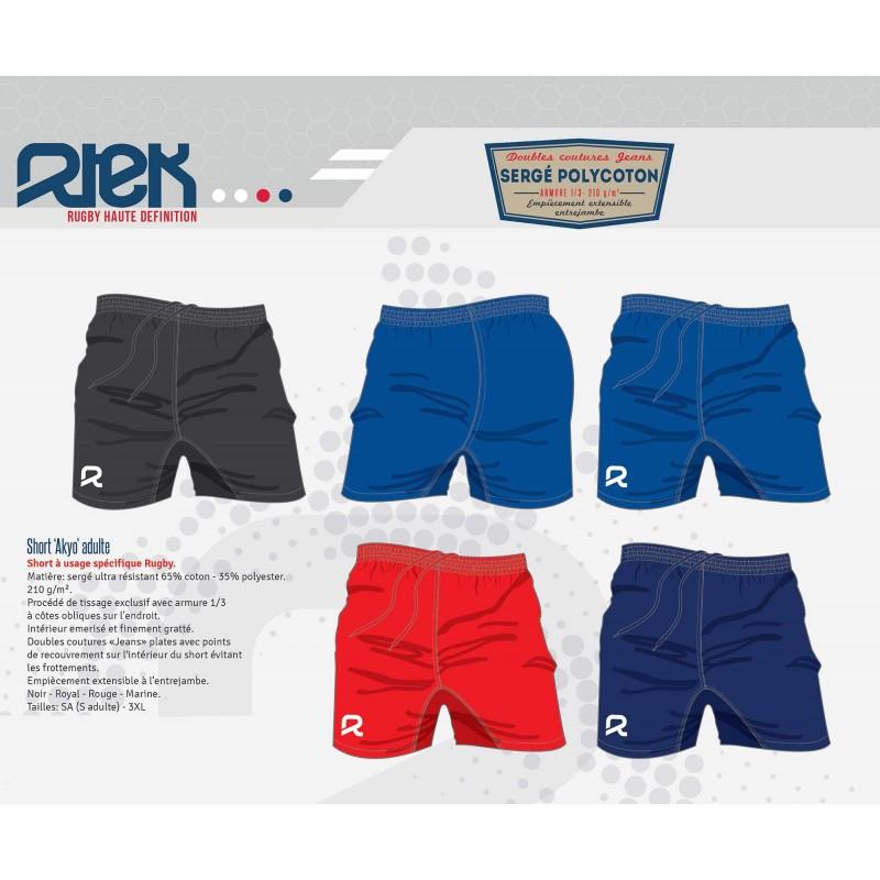Short de Rugby Akyo / Rtek