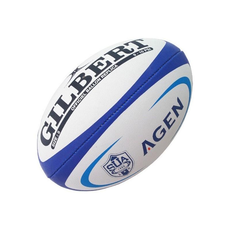 Ballon Rugby Replica Agen / Gilbert