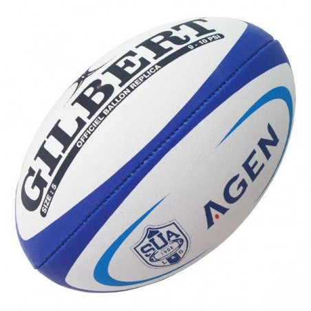 Ballon Rugby Replica Midi Agen / Gilbert