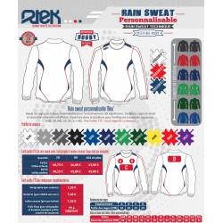 Sweat entraînement rugby personnalisable / RTEK