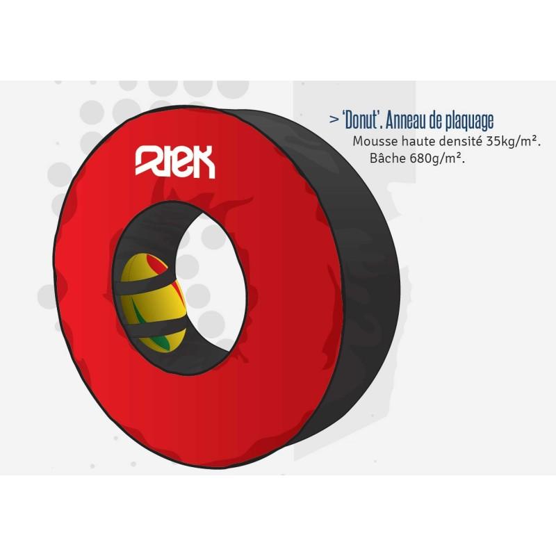 Anneau de plaquage rugby 'donuts' / RTEK
