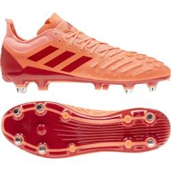 Chaussures Rugby Predator XP Rose Terrain gras / adidas