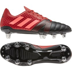 Chaussure Rugby Kakari SG 8 crampons Rouge-Noir / Adidas