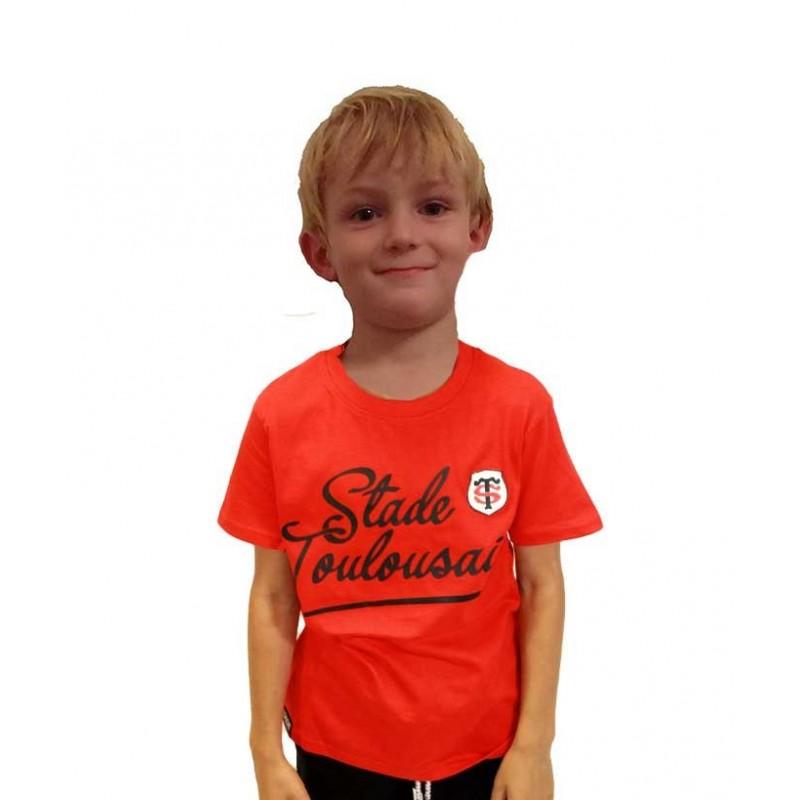 T shirt Rugby Jules pour enfant Stade Toulousain