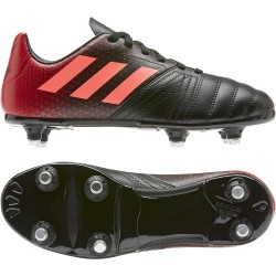 Chaussures Rugby All Blacks Junior 2020 Rouge-Noir / adidas