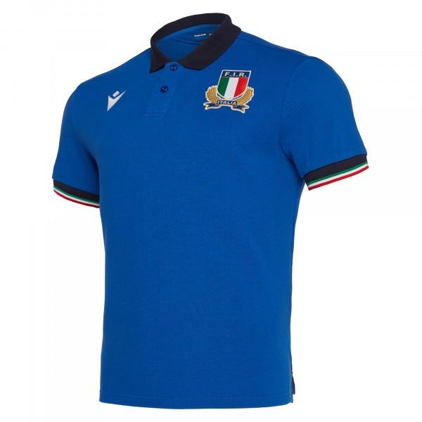 Polo Rugby Replica Coton XV d'Italie / Macron