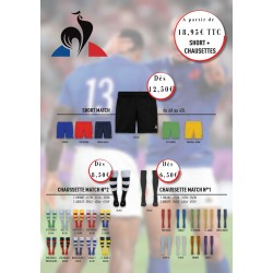 Pack Short-Chaussettes / Le Coq Sportif