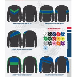 Sweat polyester Kustom personnalisable / RTEK