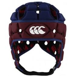 Casque de Rugby Ventilator Bordeaux-Bleu / Canterbury