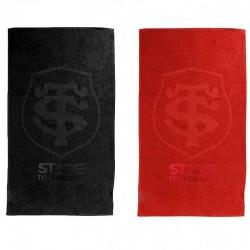 Drap de bain Noir ou Rouge / Stade Toulousain