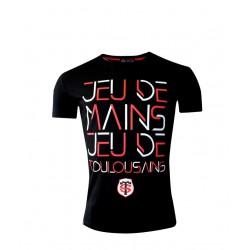T-shirt adulte Jeu de Mains / Stade Toulousain