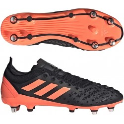 Chaussures Rugby Predator XP Noir/Rose / adidas