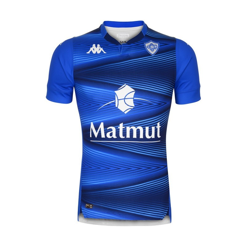 Camiseta Rugby Home Castres Adulto 2020 / Kappa