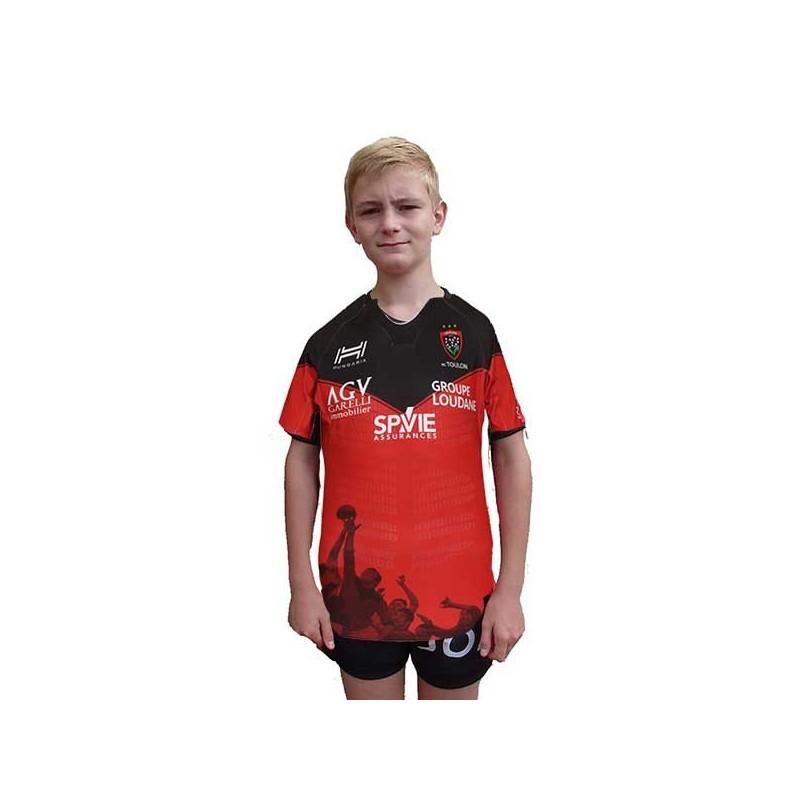 Maillot Rugby Toulon Domicile Enfant 2020-2021 / Hungaria