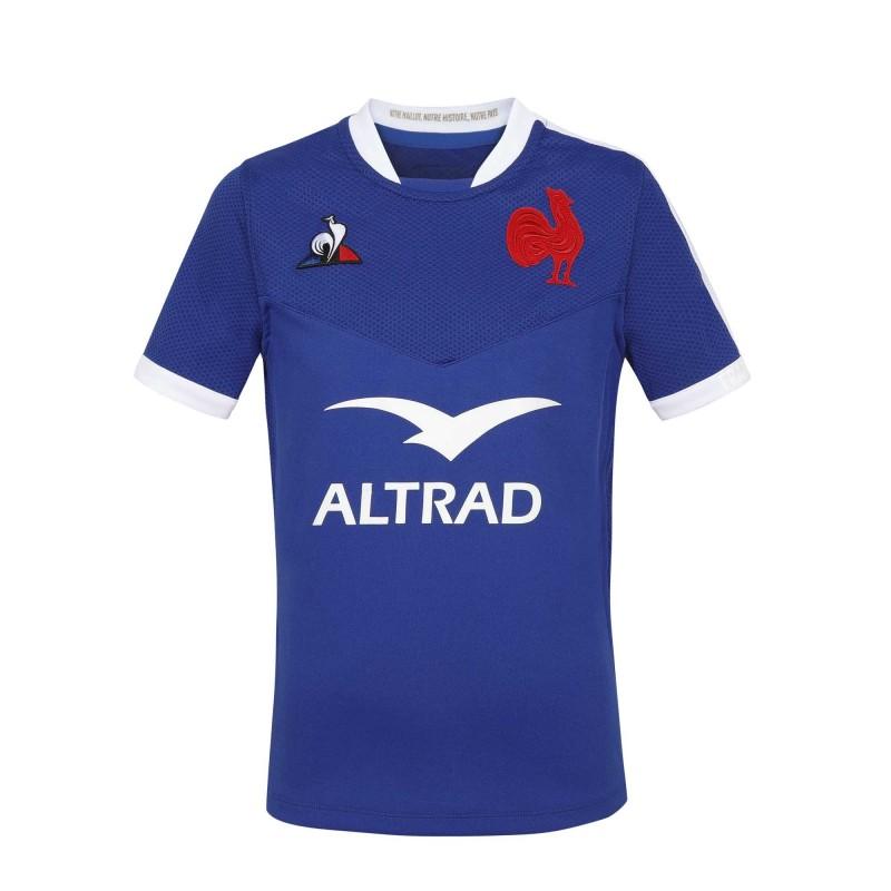 Maillot France Rugby Enfant 2020-2021 / Le Coq Sportif
