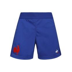 Short bleu Homme XV de France 2020 / Le Coq Sportif