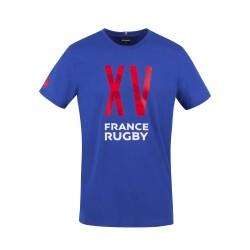 T-shirt Rugby Fan FFR Royal 2021 / Le Coq Sportif