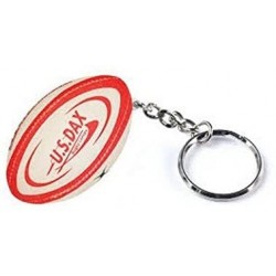 Porte-clefs en forme Ballon Rugby US Dax / Gilbert