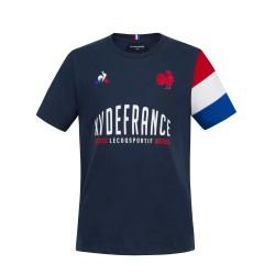 T-shirt Rugby Fan XV de France - Junior et Senior / Le Coq Sportif