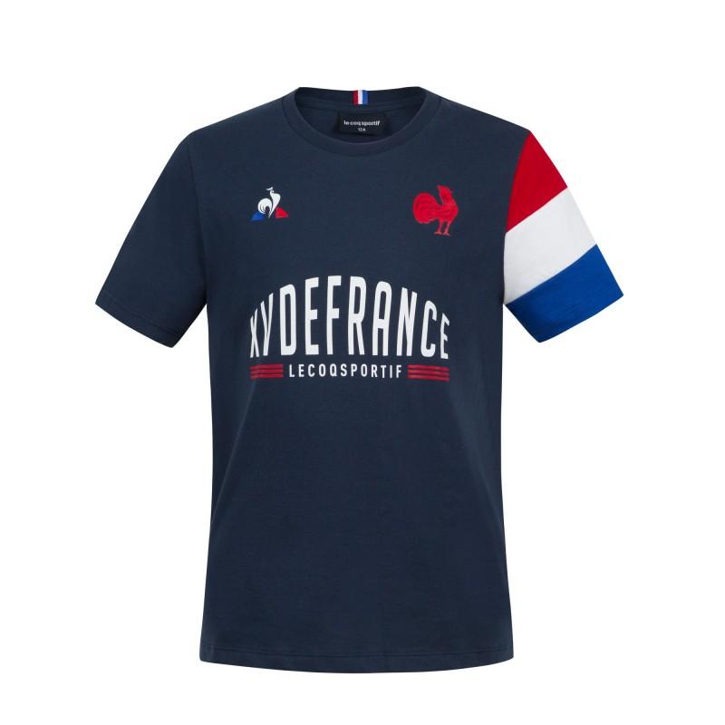 T-shirt Rugby Fan XV de France / Le Coq Sportif