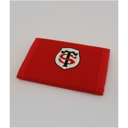 Portefeuille rugby rouge enfant / Stade Toulousain
