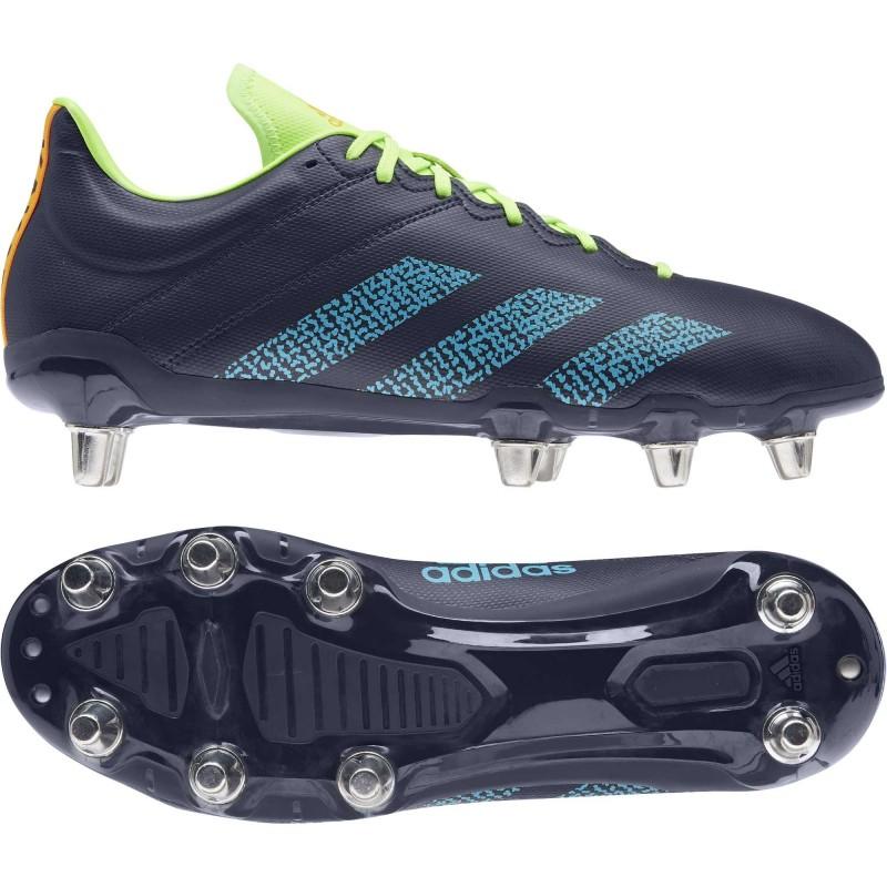 Bota de rugby Kakari césped natural húmedo / Adidas