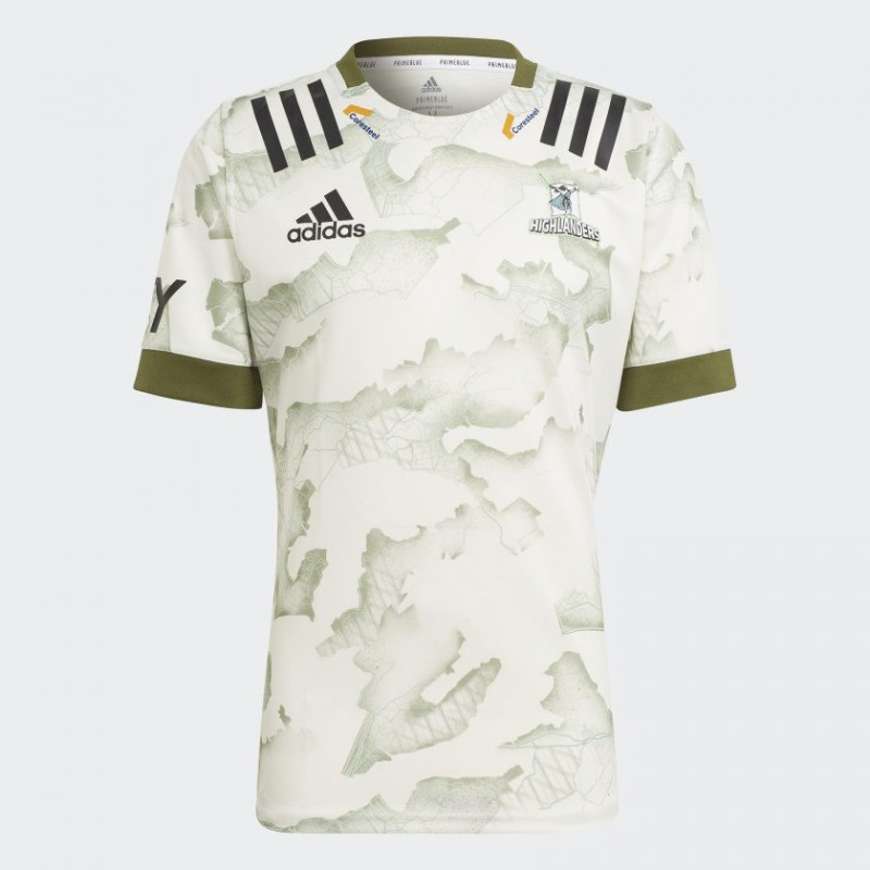 Camiseta segunda Highlanders Primeblue 2020 / adidas