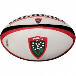 Ballon replica Gilbert du Rugby Club Toulonnais en Taille 5