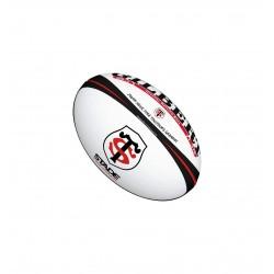 Ballon replica rugby Oxygène Gilbert du Stade Toulousain en Taille 5