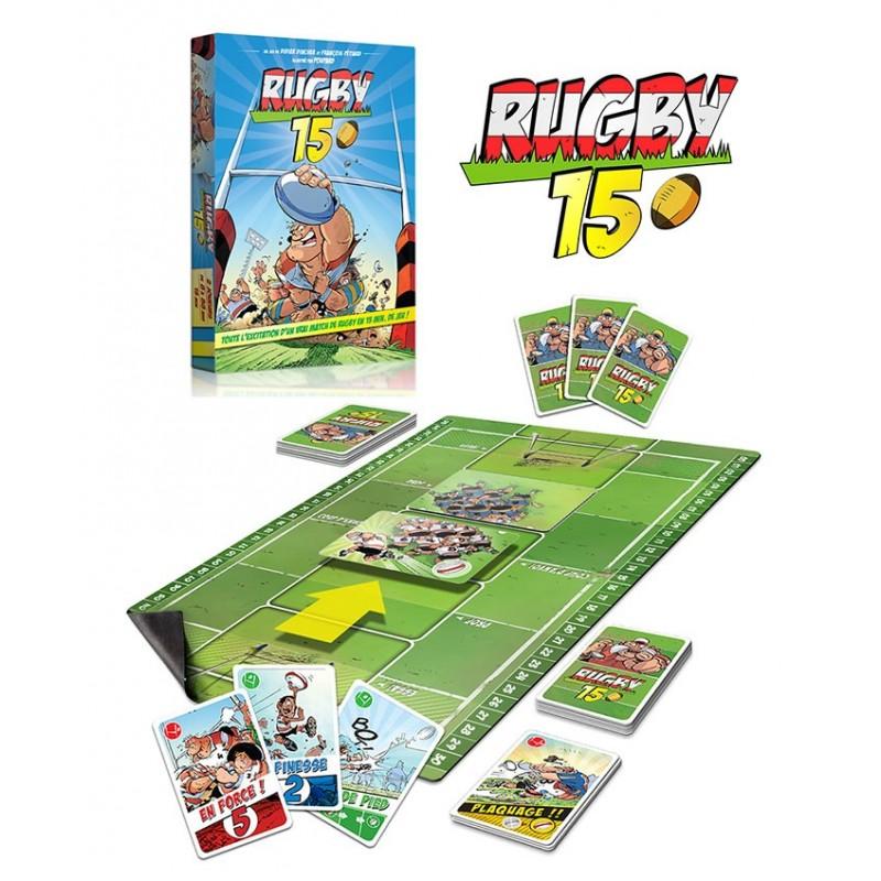 Jeu de société Rugby 15 / les RugbyMens