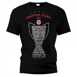 Tshirt 5e étoile Champion d'Europe / Stade Toulousain