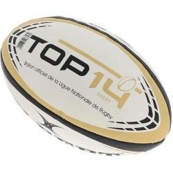 Ballon Rugby Replica Top14 en taille 5 Gilbert