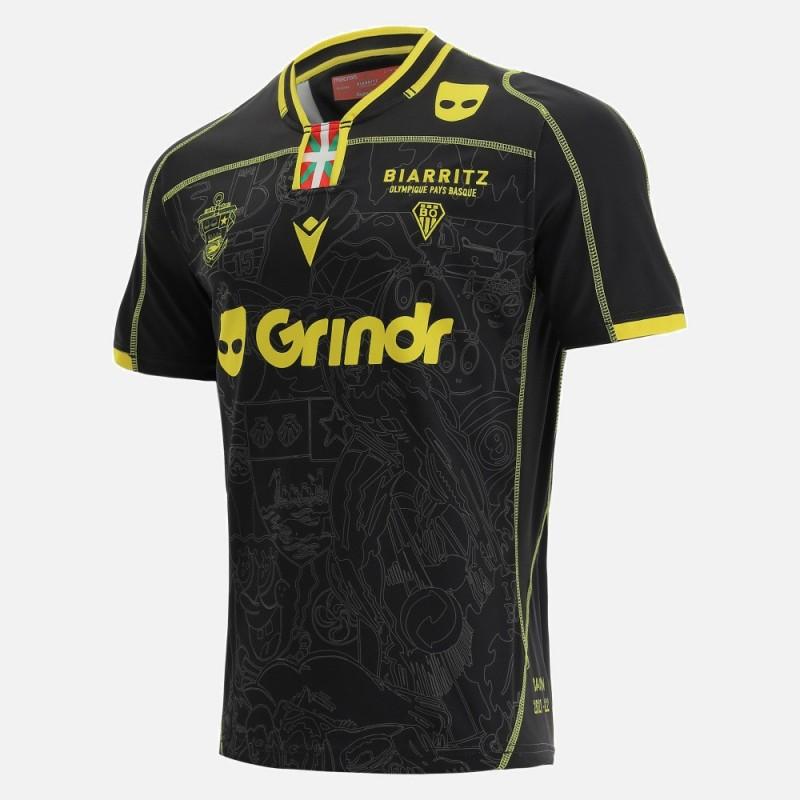 Maillot Rugby Away Biarritz 2022 Macron