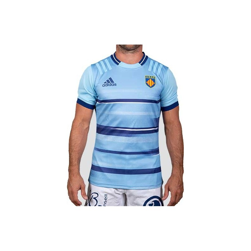 Maillot Rugby domicile Perpignan 2021-2022 Adidas