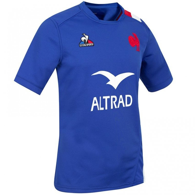 Maillot France Rugby adulte 2021-22 Le Coq Sportif