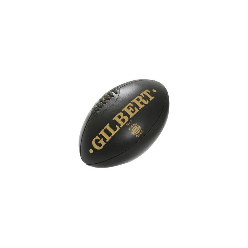 Ballon en cuir vintage de gilbert - Ballon de rugby cuir vintage ...